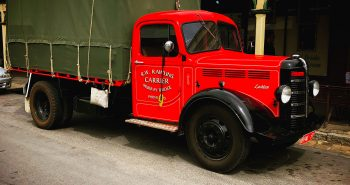 Vintage Truck - Main Street Maldon - 15th November 2018